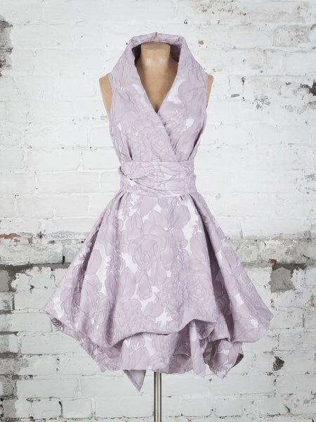 Ocean Rose Trench Dress in Lavender