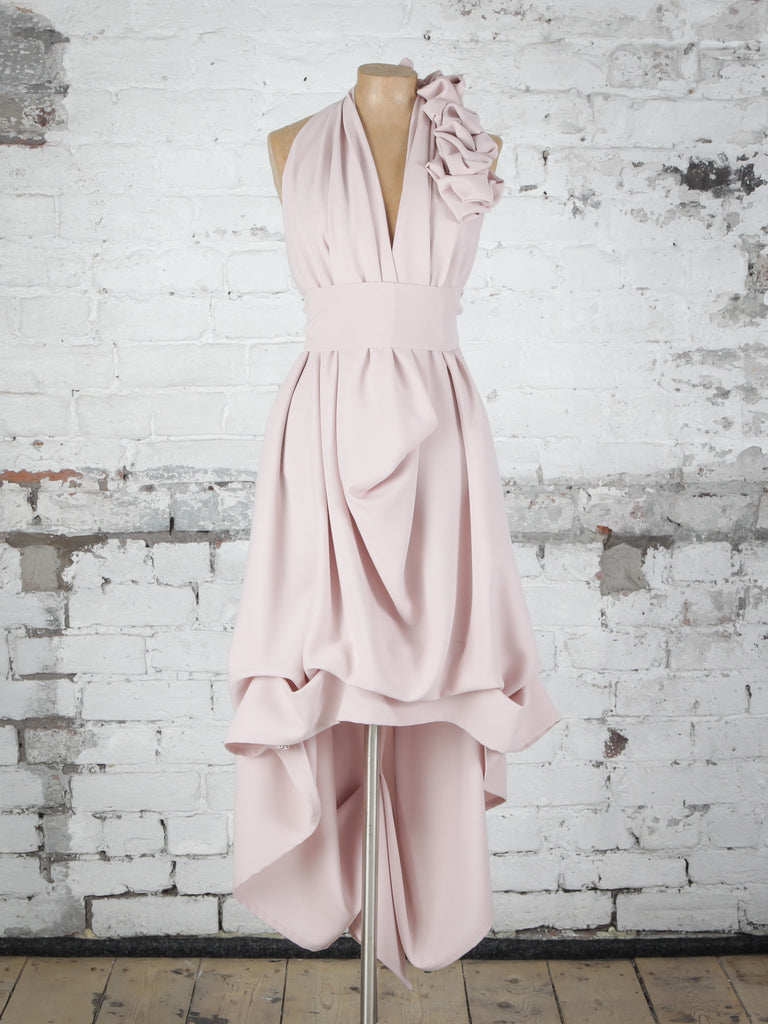 Maxi Emma Nude Dress Blonde And Wise