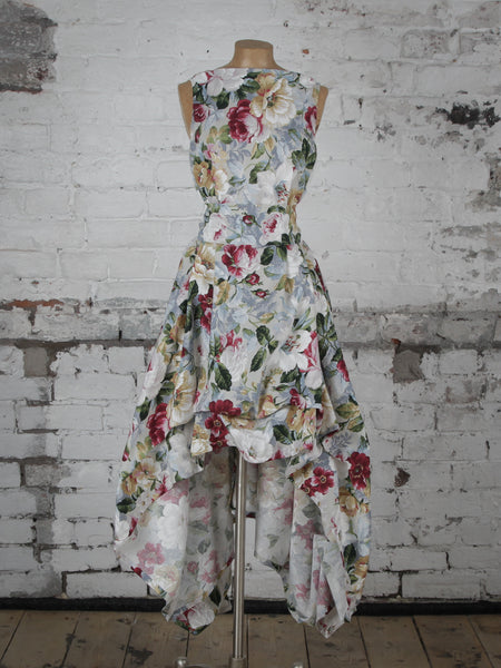 Winter Floral Wendy Dress