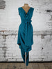 Teal Poppy Dress