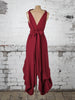 Deep Red Wendy Dress