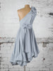 Ice Blue Drew Dress with Embellished Belt