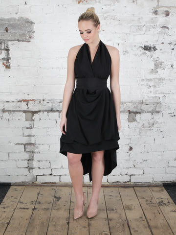 Black Emma Maxi Dress