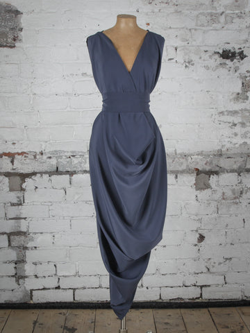 Gunmetal Grey Poppy Dress