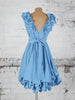 Sky Blue Fern Dress