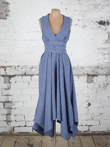 Denim Blue Darcy Dress