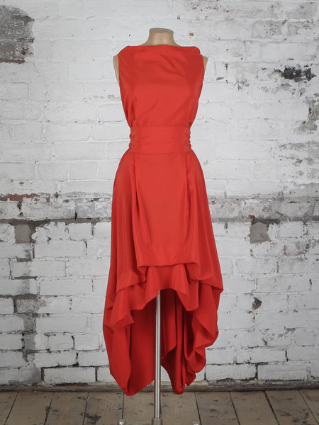 Blood Orange Wendy Dress