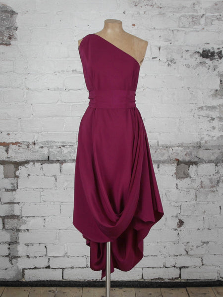 Plum Jessie Dress