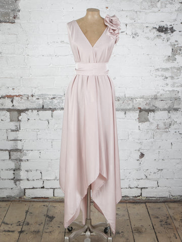 Nude Valentina Dress