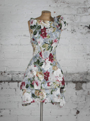 Winter Floral Bradley Dress