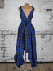 Royal Blue Tartan Wendy Dress