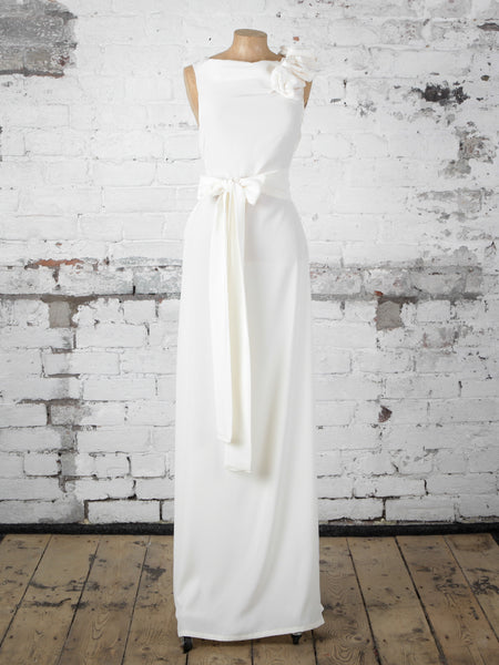 Ivory and Lace Anna Maxi Dress