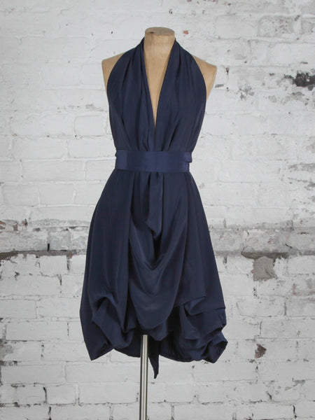 Navy Emma Dress