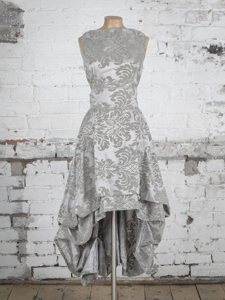 Grey Flock Wendy Dress