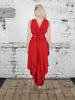 Bright Red Valentina Dress