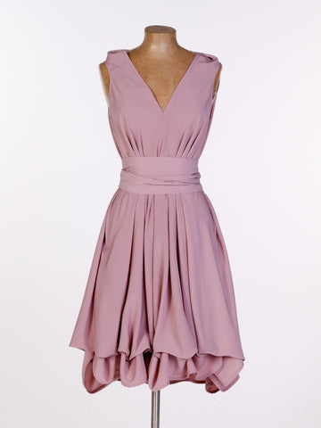 Dusky Pink May Dress