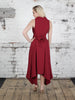 Deep Red Darcy Dress