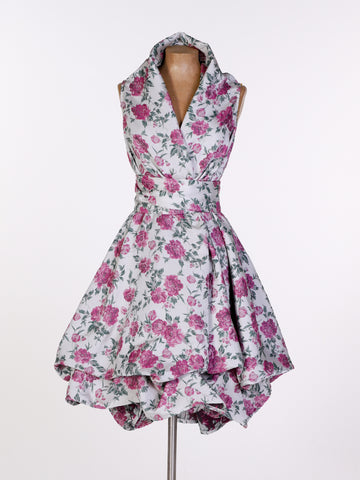 Hattie Floral Trench Dress
