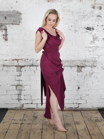 Plum Willow Dress
