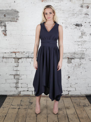 Navy Darcy Dress
