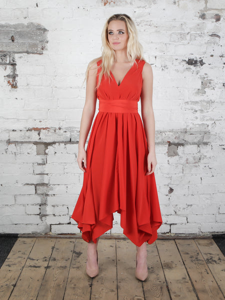 Blood Orange Darcy Dress