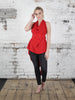 Bright Red Alice Maxi Top