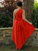 Blood Orange Belle Dress