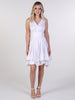 Ivory Embossed May Dress