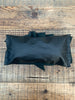 Black Ruffle Clutch Bag - 057