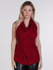 Deep Red Alice Top