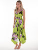 Lime Santa Cruz Darcy Dress