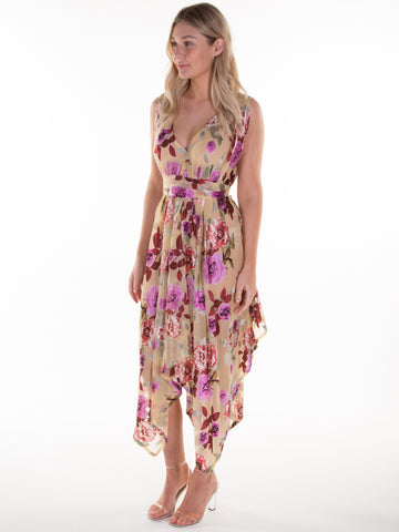 Aria Floral Valentina Dress