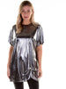 Reflections Silver Hitched T-Shirt Dress