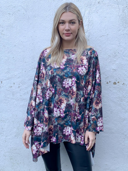 Midnight Floral Riley Top