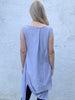 Grey Jersey Drape Top