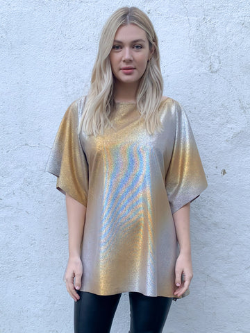 Gold and Silver Atlas Top