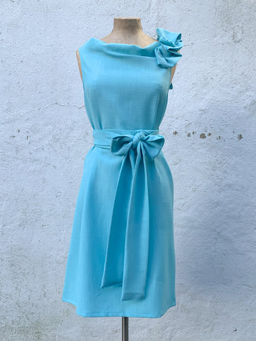 Turquoise Beth Dress