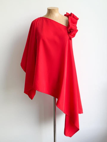 Bright Red Stella Top