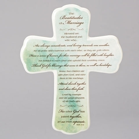 The Beatitude of Marriage Cross