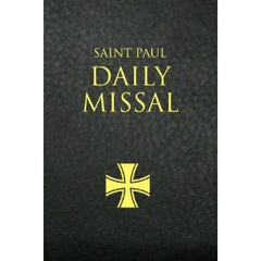 Saint Paul Daily Missal: Black Leatherflex