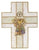 "7"" 1st Communion wall cross with chalice"
