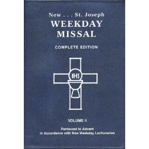 St Joseph Weekday Missal Complete Edition Vol II - Pentecost to Advent (Black Leather with Zipper)