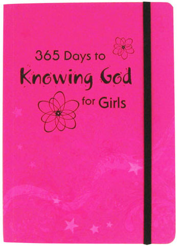 365 Days to Knowing God For Girls by Carolyn Larsen