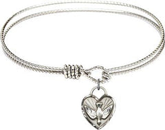 Holy Spirit Confirmation Heart Bracelet
