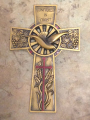 Confirmed in Christ Golden Cross