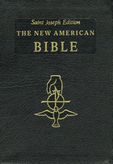 The New American Bible Saint Joseph Edition - black cover