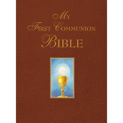 My First Communion Bible (Burgundy Hard Cover)