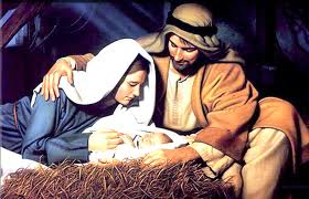 Away in a manger Holy Family