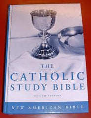 The Catholic Study Bible Second Edition New American Bible (Paperback)