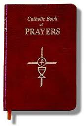 Catholic book of Prayers (Bonded leather, Burgundy)